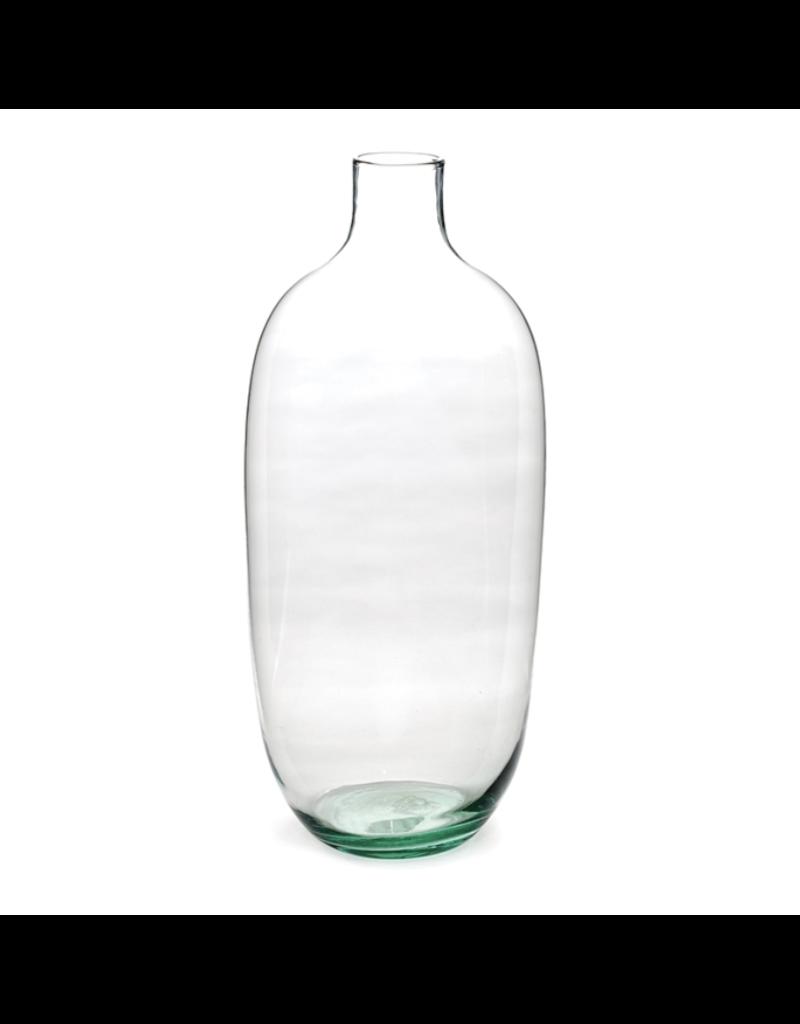 "Bryson Clear Vase 19.5"""