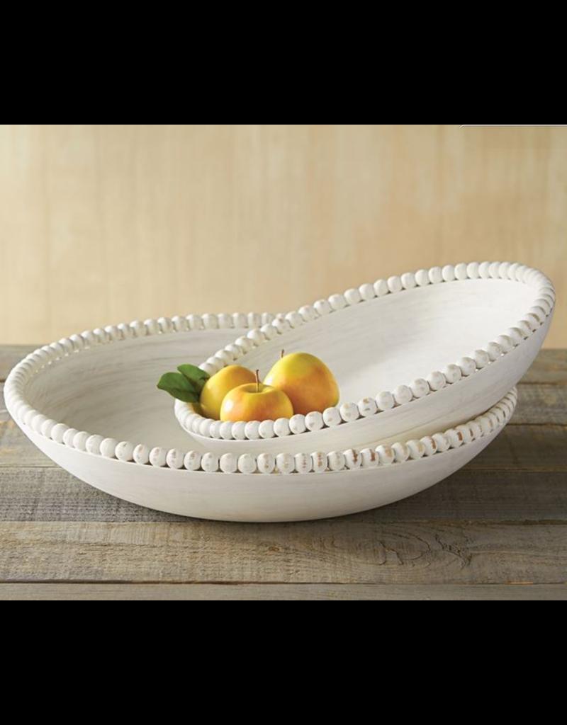 Large Nested Beaded Bowl