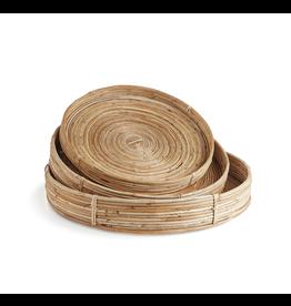 Oak + Arrow Interiors Cane Round Tray Small