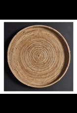 Oak + Arrow Interiors Cane Round Tray Medium
