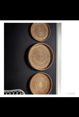 Oak + Arrow Interiors Cane Round Tray Large