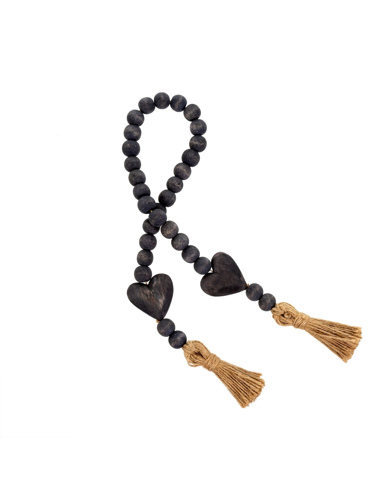 Oak + Arrow Interiors Heart Blessing Beads