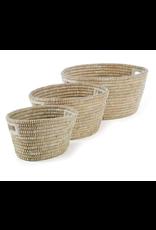 Large Rivergrass Oval Basket