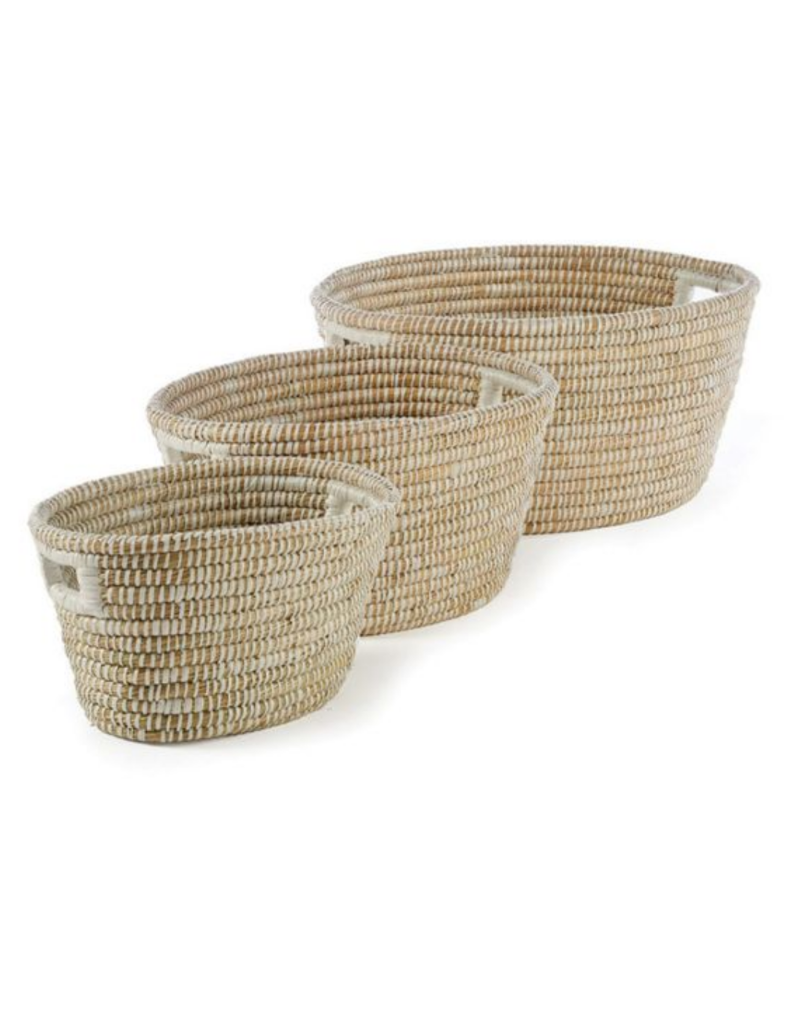 Small Rivergrass Oval Basket