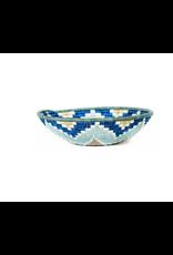 Lg Silver Blue Ficelle Hope Basket