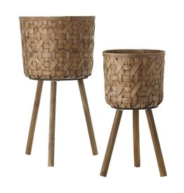 Oak + Arrow Interiors Bam Basket Small