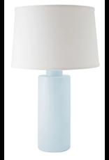 Hydrangea Light Blue Solid Column Lamp