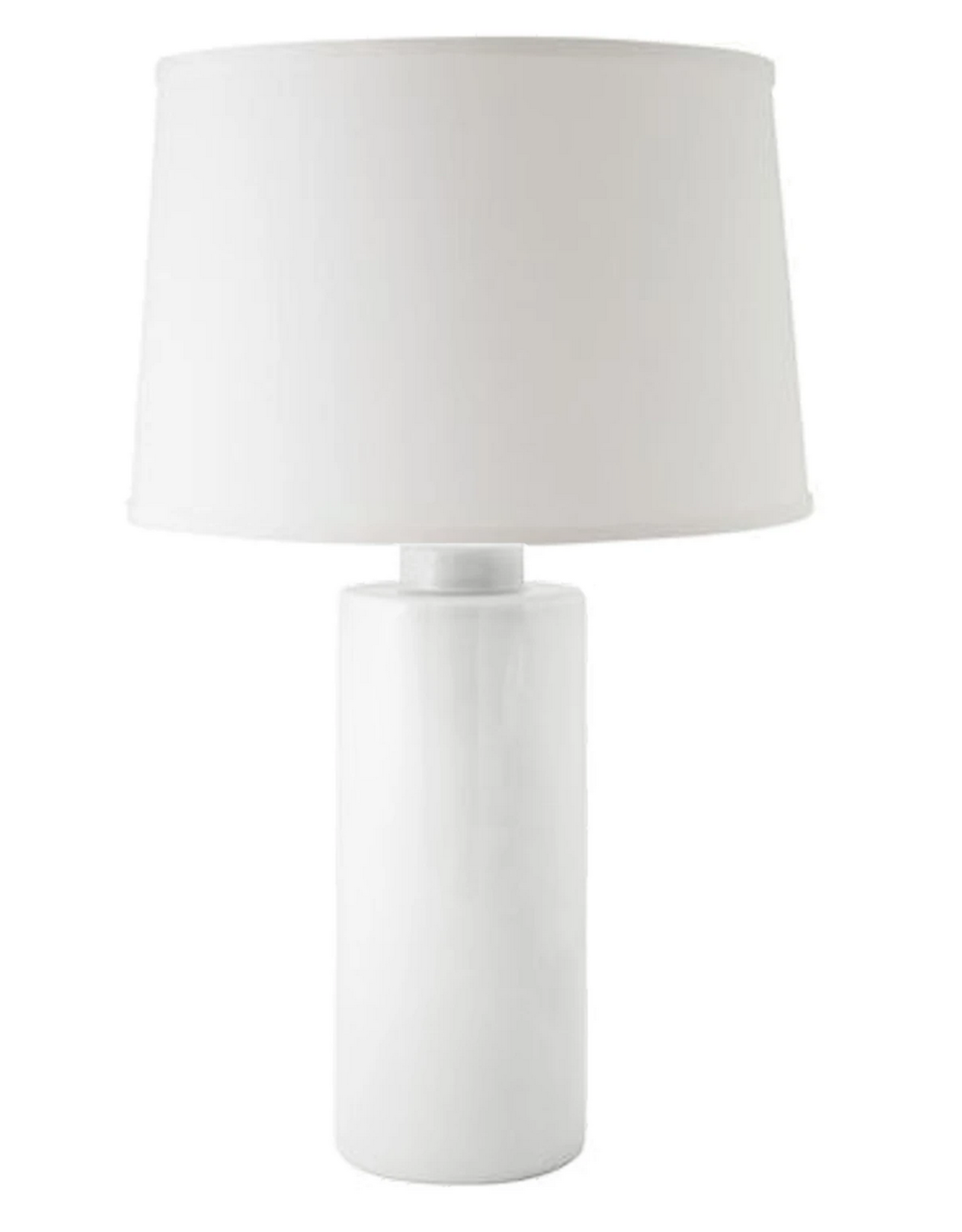 White Solid Column Lamp
