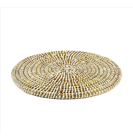 Oak + Arrow Interiors Rivergrass Round Placemat