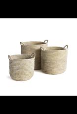 Oak + Arrow Interiors Rivergrass Basket with Handles - Large