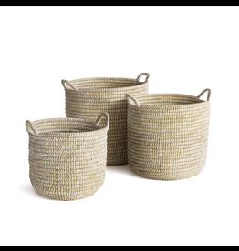 Oak + Arrow Interiors Rivergrass Basket with Handles - Medium