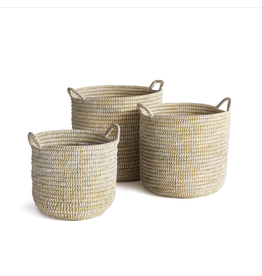 Oak + Arrow Interiors Rivergrass Basket with Handles - Small