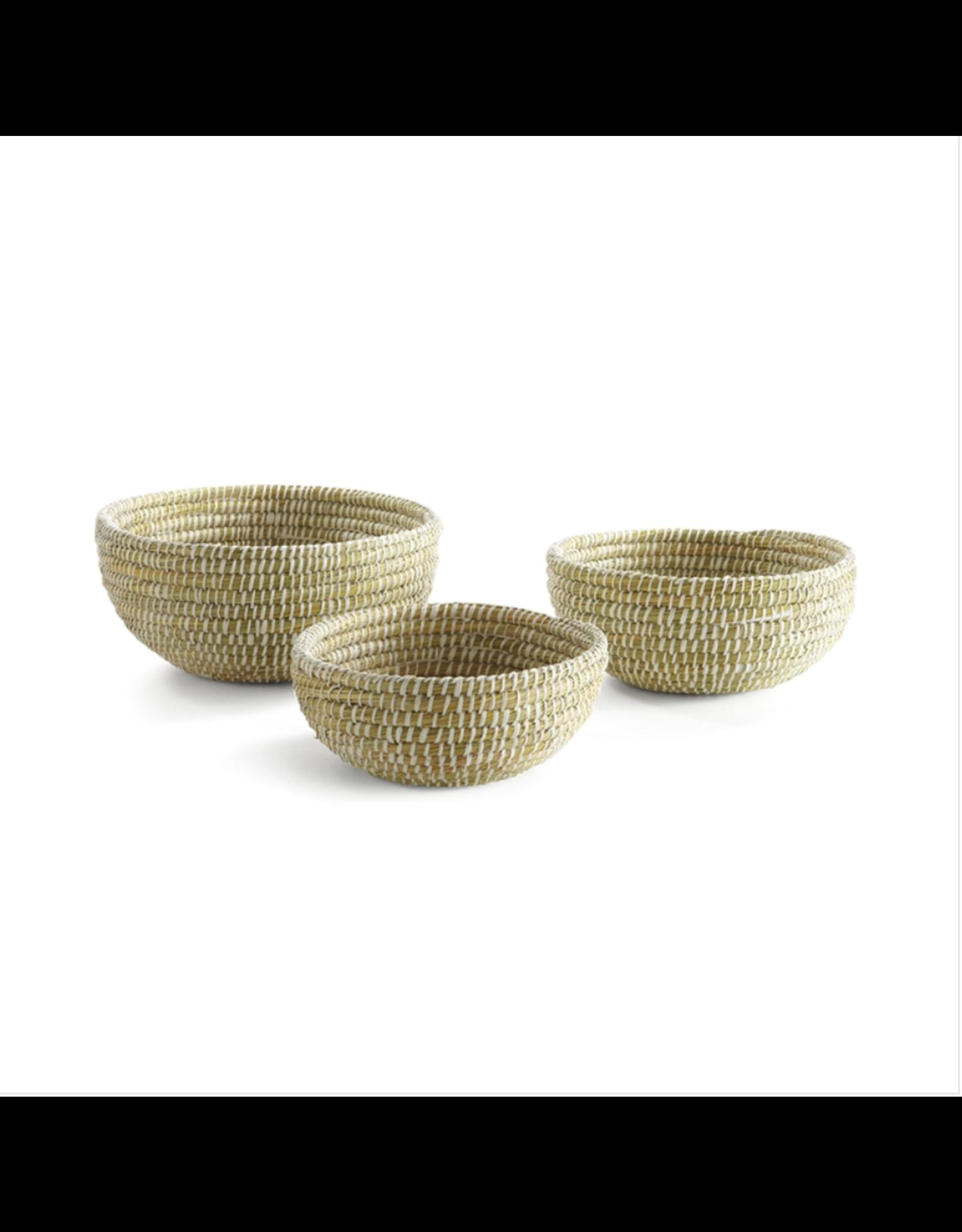 Oak + Arrow Interiors Rivergrass Low Basket - Medium