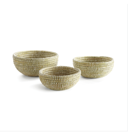 Oak + Arrow Interiors Rivergrass Low Basket - Medium