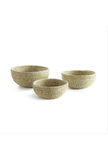 Oak + Arrow Interiors Rivergrass Low Basket - Small