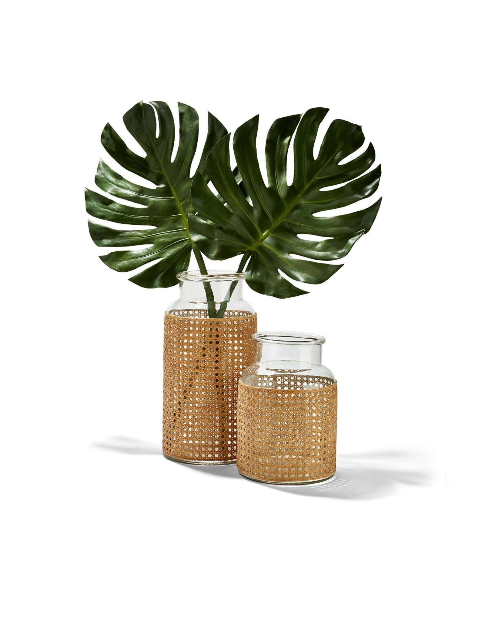 Oak + Arrow Interiors Cane Webbing Jar - Large