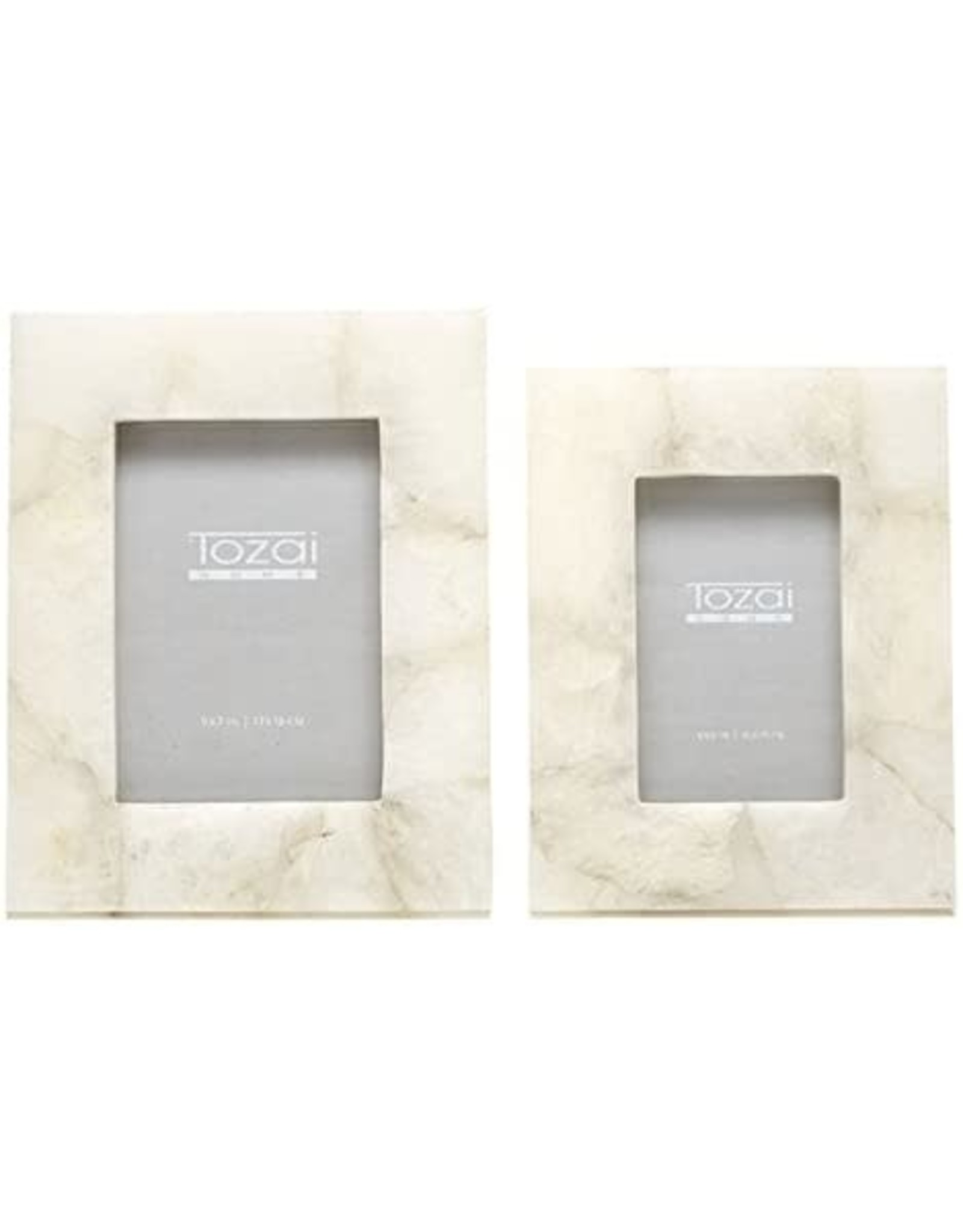 Oak + Arrow Interiors White Quartz Frame 4x6