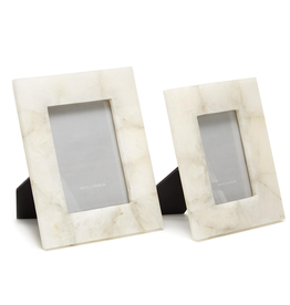 Oak + Arrow Interiors White Quartz Frame 4x6
