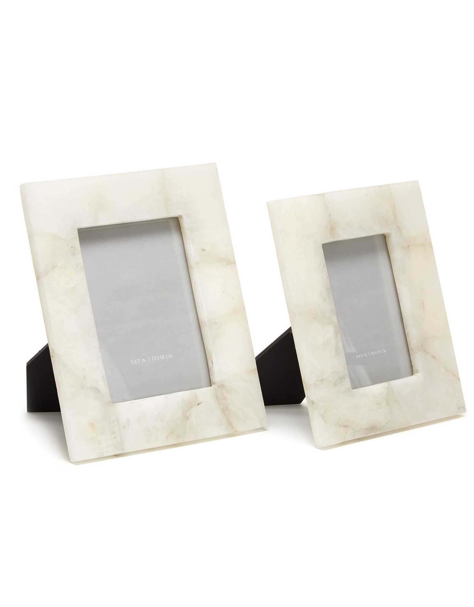 Oak + Arrow Interiors White Quartz Frame 5x7