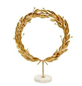 Oak + Arrow Interiors Grecian Wreath on Stand