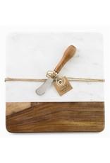 Oak + Arrow Interiors Marble & Wood Board Set
