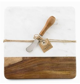 Oak + Arrow Interiors Marble & Wood Board Set