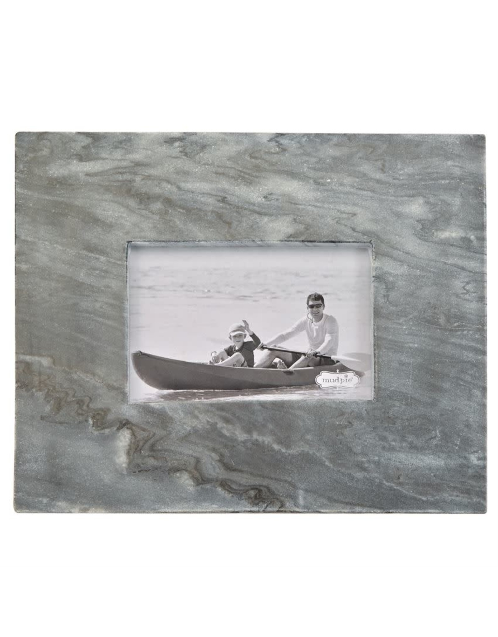 4x6 Small Gray Marble Frame