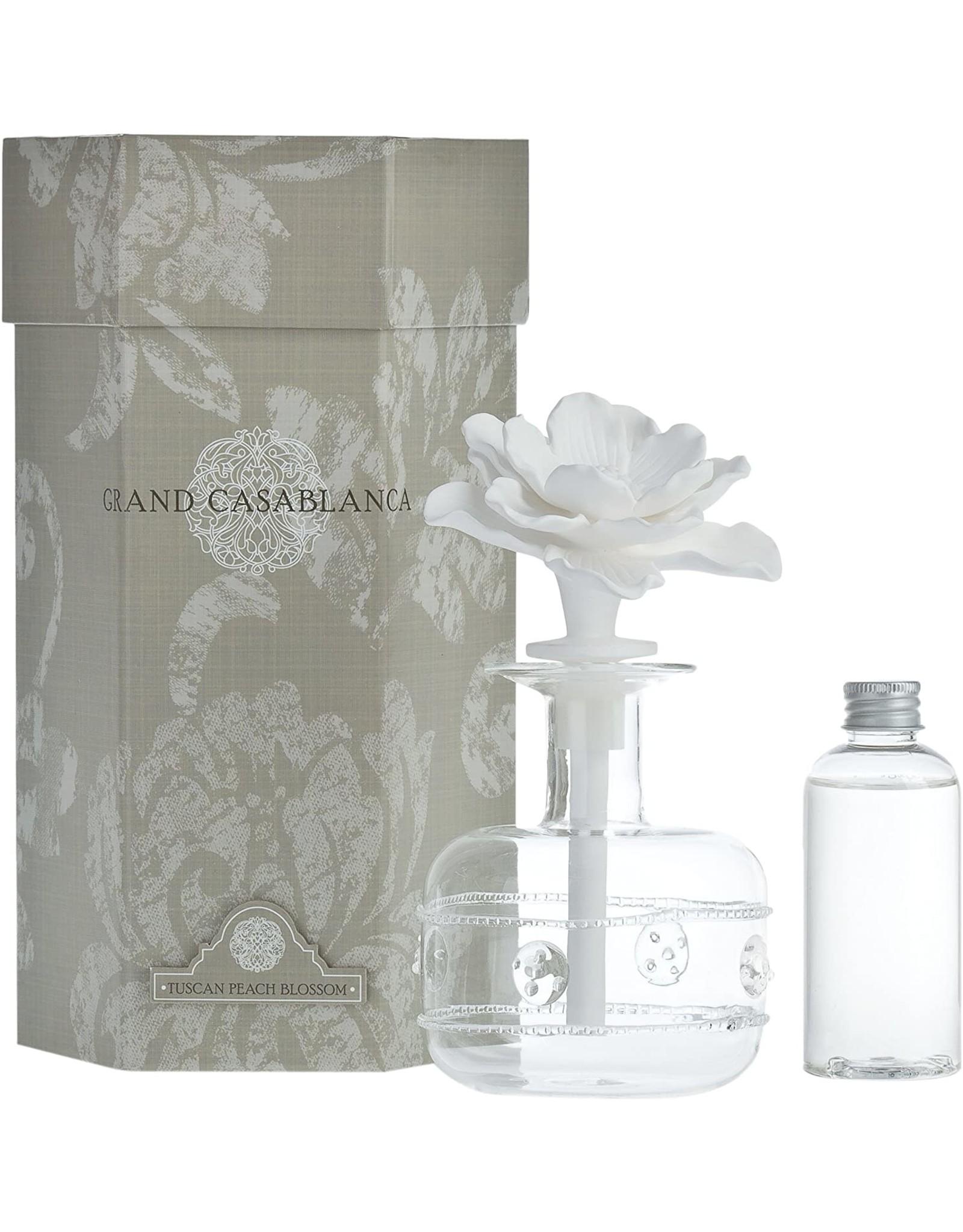 Tahitian Gardenia-Mini Grand Casablanca Porcelain Diffuser