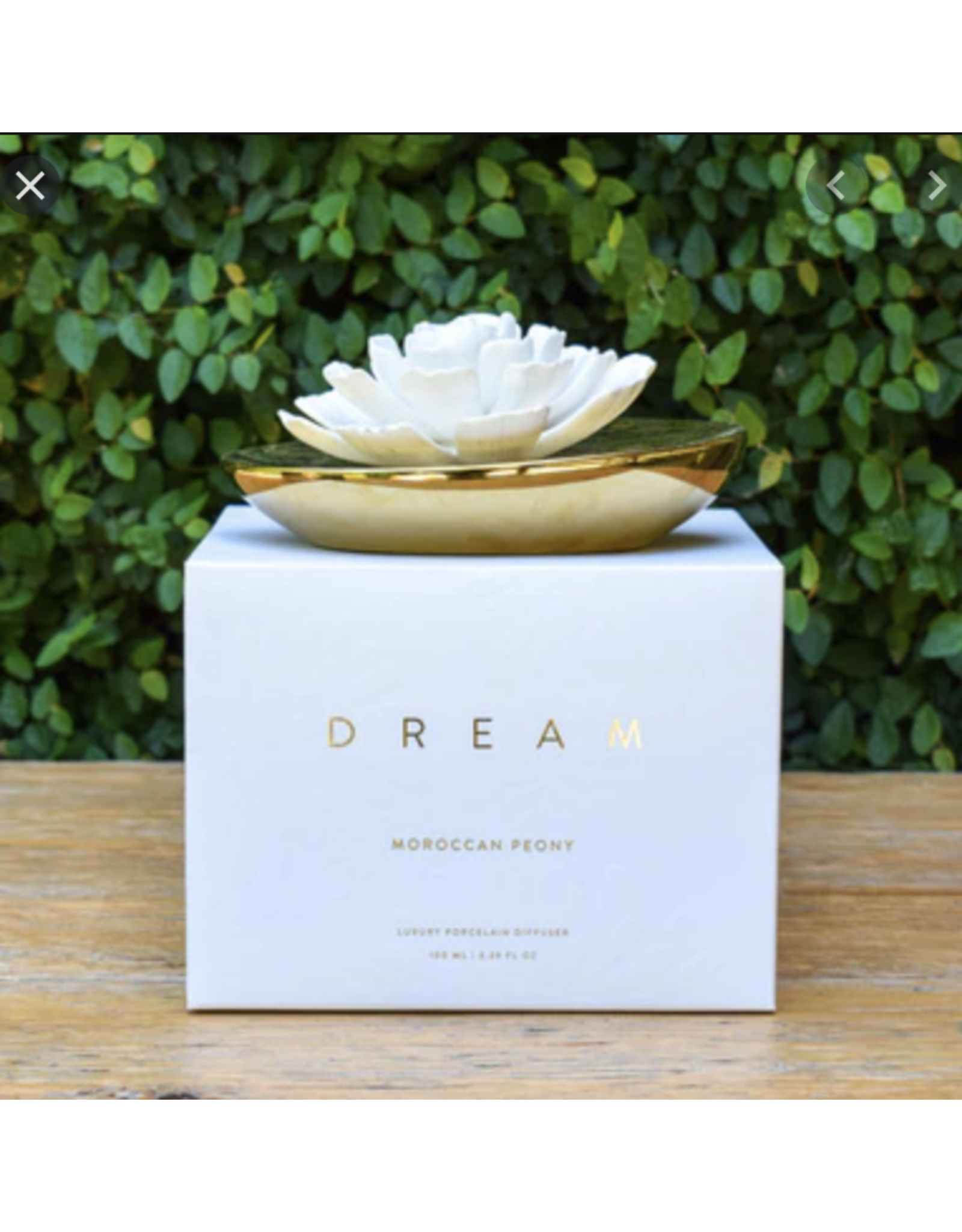 Dream Porcelain Flower Diffuser - Moroccan Peony