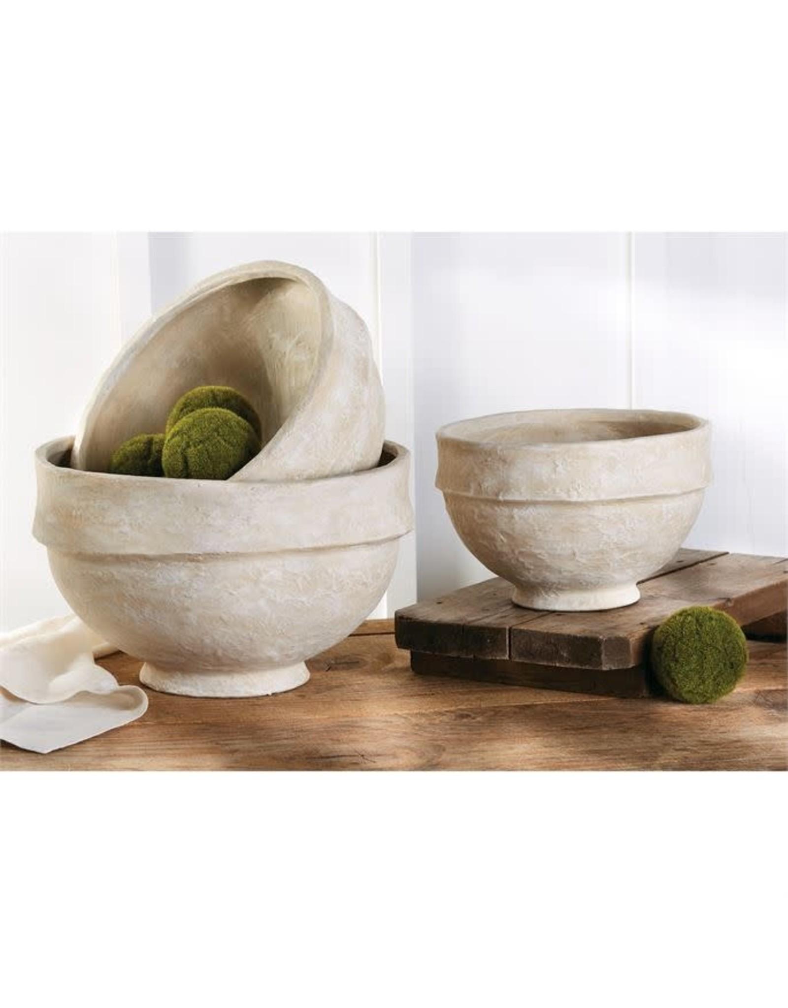 Oak + Arrow Interiors LARGE Paper Mache Bowl
