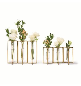 Oak + Arrow Interiors Large Golden Flower Vases