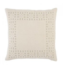 "Oak + Arrow Interiors Mezza Pillow Blush 22""x22"""