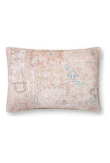 "Oak + Arrow Interiors Blush Vintage Pillow 16"" x 26"""
