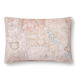 "Oak + Arrow Interiors Blush Vintage Pillow 16"" x 26"""