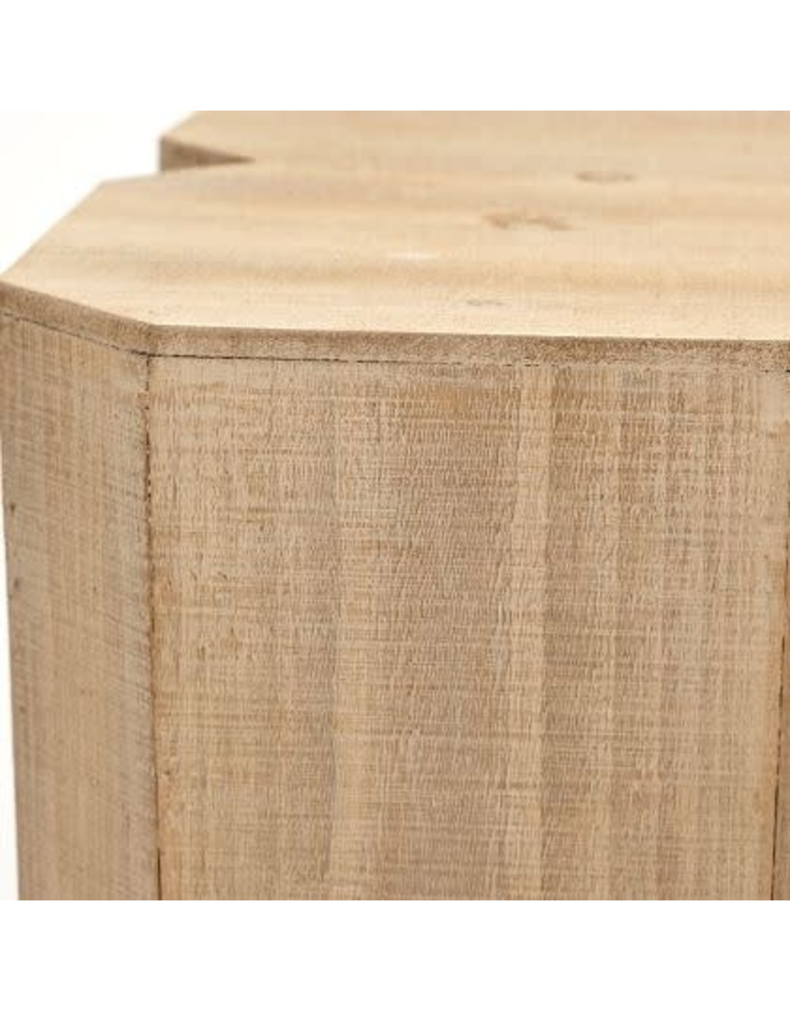 Clover Wood Accent Table