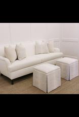 "Oak + Arrow Interiors Antelope Linen Print 18"" X 18"""