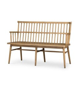Oak + Arrow Interiors Aspen Bench