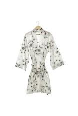 Magnolia Block Print Robe