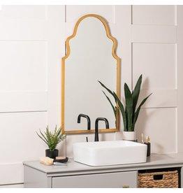 Oak + Arrow Interiors Lincoln Gold Mirror