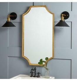 Oak + Arrow Interiors Lina Gold Mirror