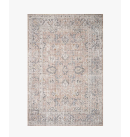 "Oak + Arrow Interiors SKYE Blush / Grey 2'3"" x 3'9"""