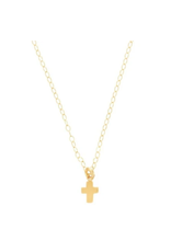 "16"" Necklace Gold-Believe Gold"