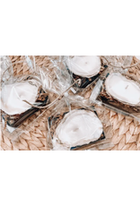 Oak + Arrow Interiors Individual Oyster Candle - Sea Salt & Palmetto