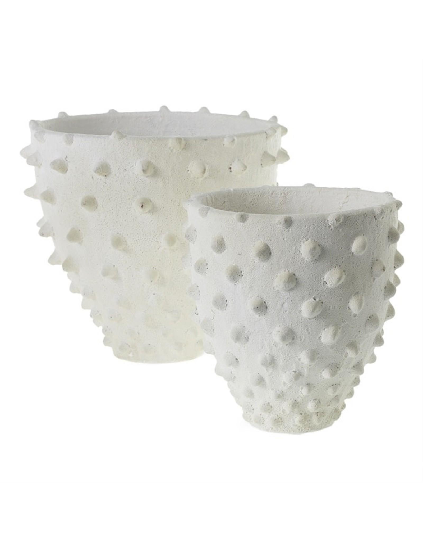 "Oak + Arrow Interiors Zemora Vase 9.75""x 9.5"""