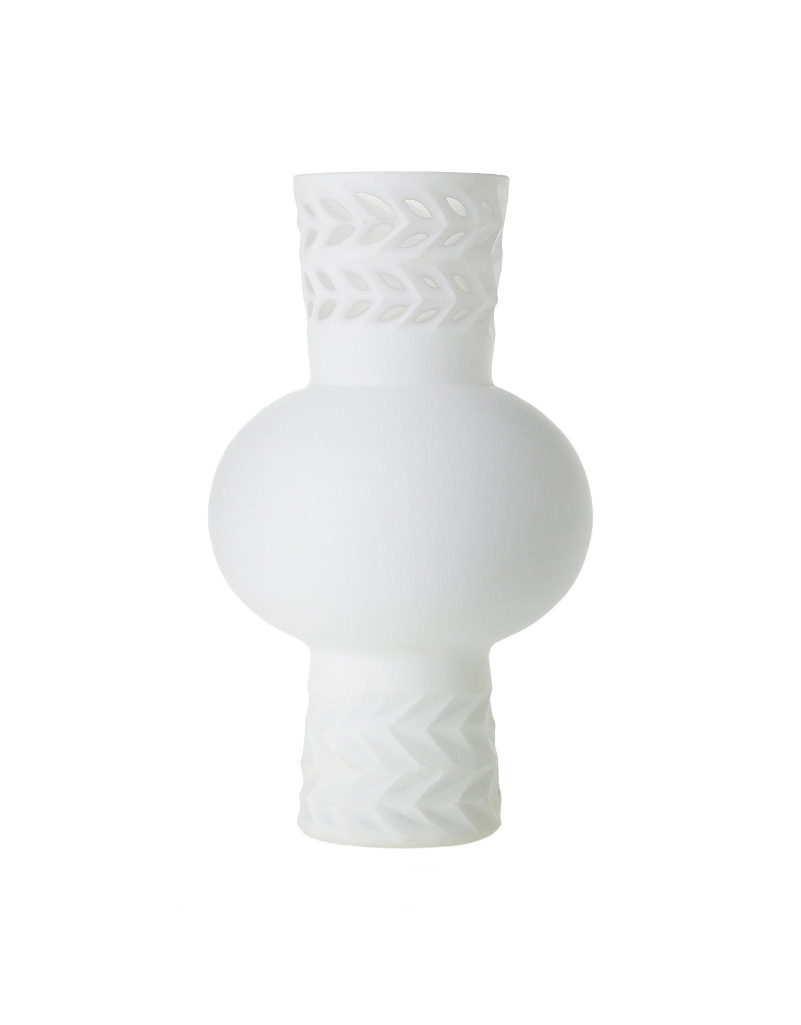 "Oak + Arrow Interiors Casablanca Vase 7""x12"""