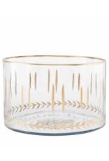 Oak + Arrow Interiors Large Gold Etched Bowls