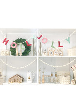 Oak + Arrow Interiors White Pom Pom Garland