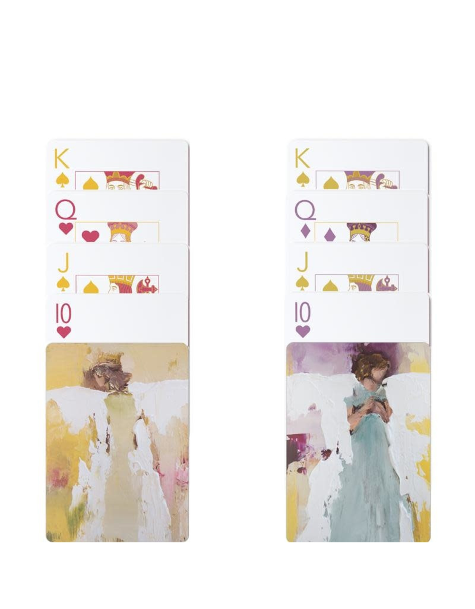 Oak + Arrow Interiors Angel Series Playing Cards