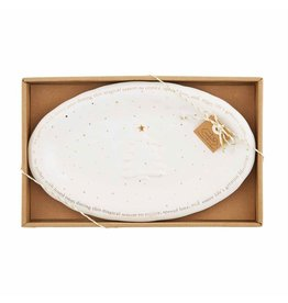 Oak + Arrow Interiors Gold Splatter Small Plate
