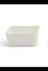 Basketweave Tidbit Dish-Square
